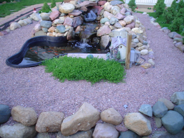 Water Features Plastic Pre Form Or Pond Liner Community Forums