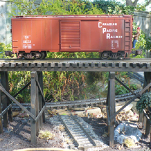 Display trestle