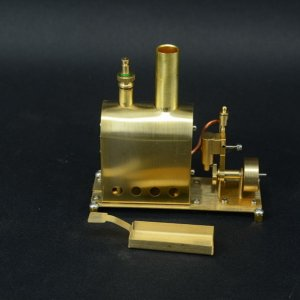 Microcosm M55 mini steam engine and boiler (photo from Ebay listing)
