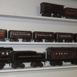 Bing for Bassett Lowke one gauge Canadian Pacific