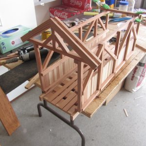 Roof structure assembly