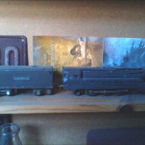 Lionel Train with coal car