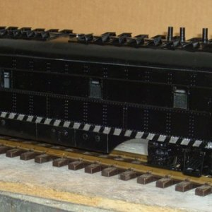 ATSF #2611 rebuilt transfer switcher (previous one of the one-spot-twins)