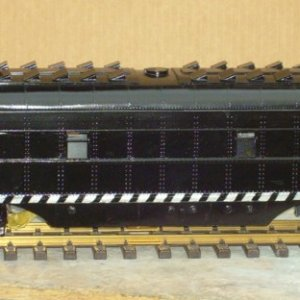 ATSF #2611 rebuilt transfer switcher