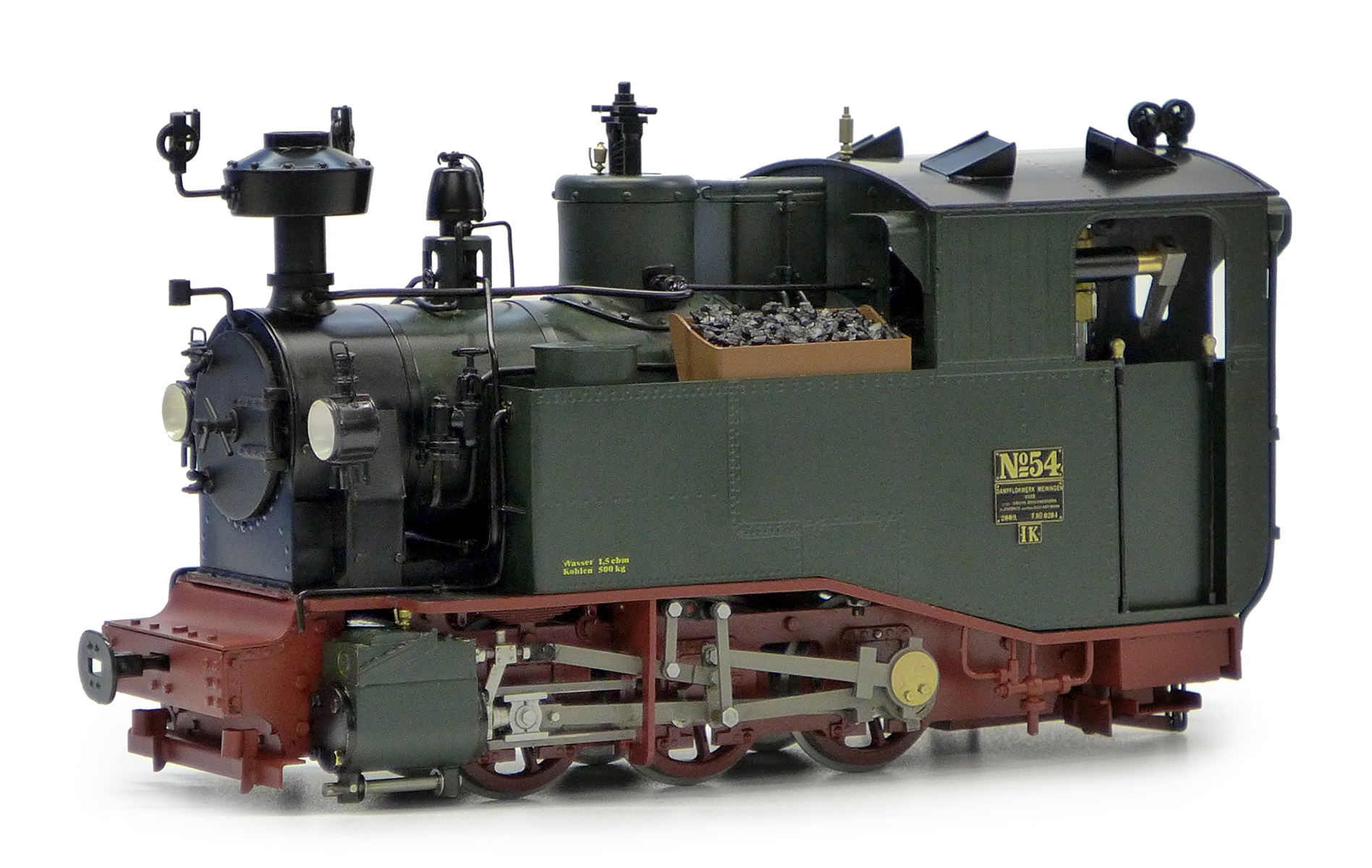 Accucraft Saxonian IK #54 0-6-0 Live Steam - myLargescale
